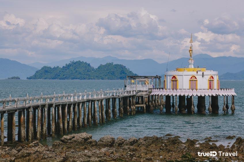 วัดสวย วัดเกาะพยาม โบสถ์กลางทะเล ระนอง