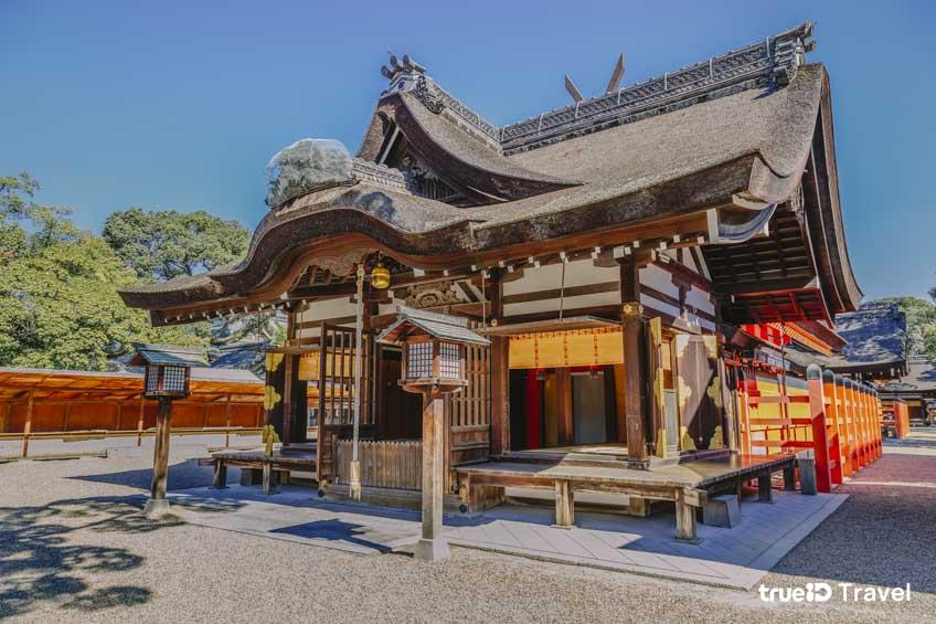 ที่เที่ยวโอซาก้า Sumiyoshi Shrine ญี่ปุ่น