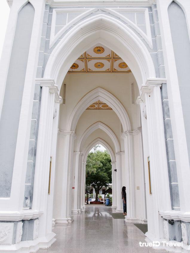 อาสนวิหารแม่พระบังเกิด โบสถ์สวย อัมพวา