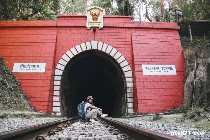 นั่งรถไฟเที่ยว สถานีขุนตาน ที่เที่ยวลำพูน