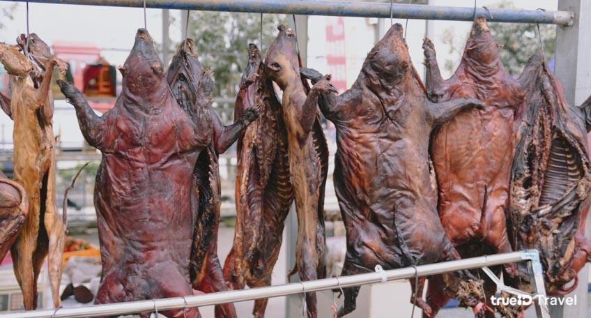 ตลาดค้าสัตว์ป่าในจีน
