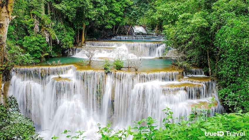 เที่ยวน้ำตกห้วยแม่ขมิ้น กาญจนบุรี