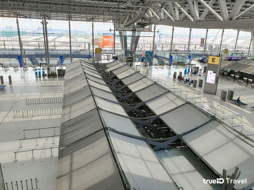 หยุดบิน โควิด-19 สนามบินสุวรรณภูมิ