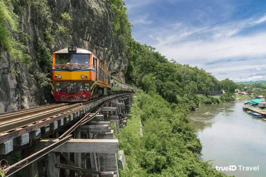 ทางรถไฟสายมรณะถ้ำกระแซ สงครามโลกครั้งที่ 2 กาญจนบุรี