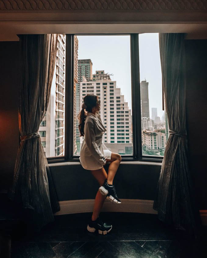 Hotel Muse Bangkok Langsuan ที่พักสวย กรุงเทพ