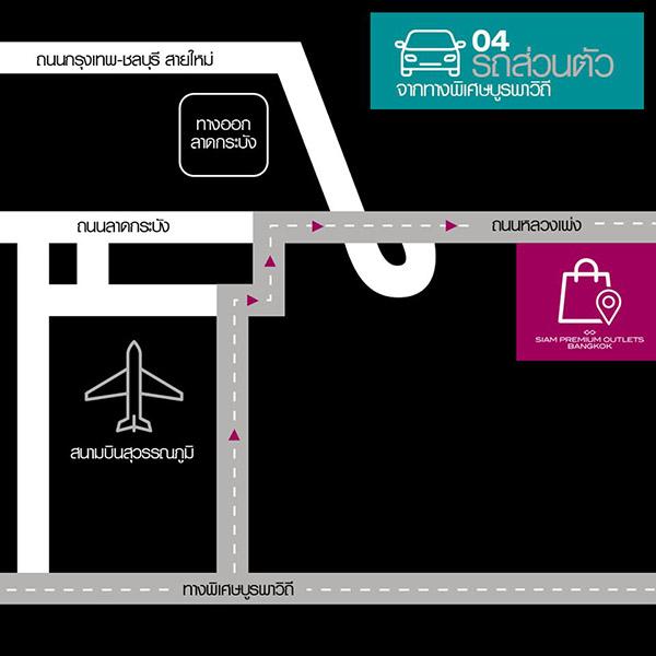 การเดินทางไปSiam Premium Outlets Bangkok