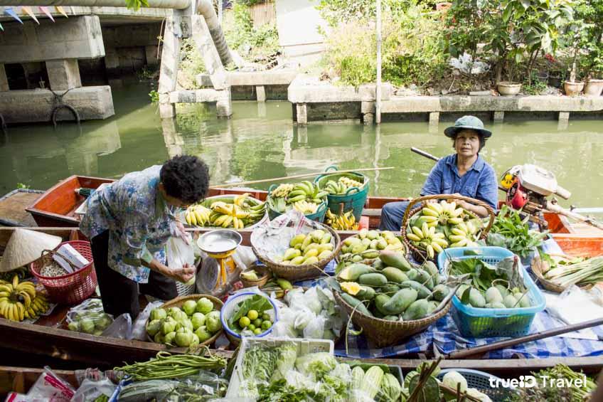 ตลาดน้ำกรุงเทพ ตลาดน้ำคลองลัดมะยม