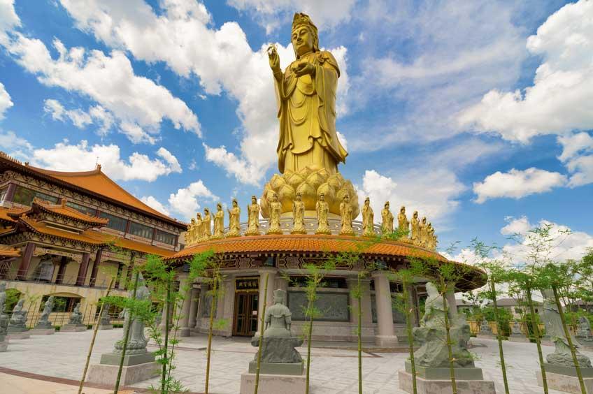 ที่เที่ยวกรุงเทพ วัดโฝวกวงซัน วัดไต้หวันในเมืองไทย