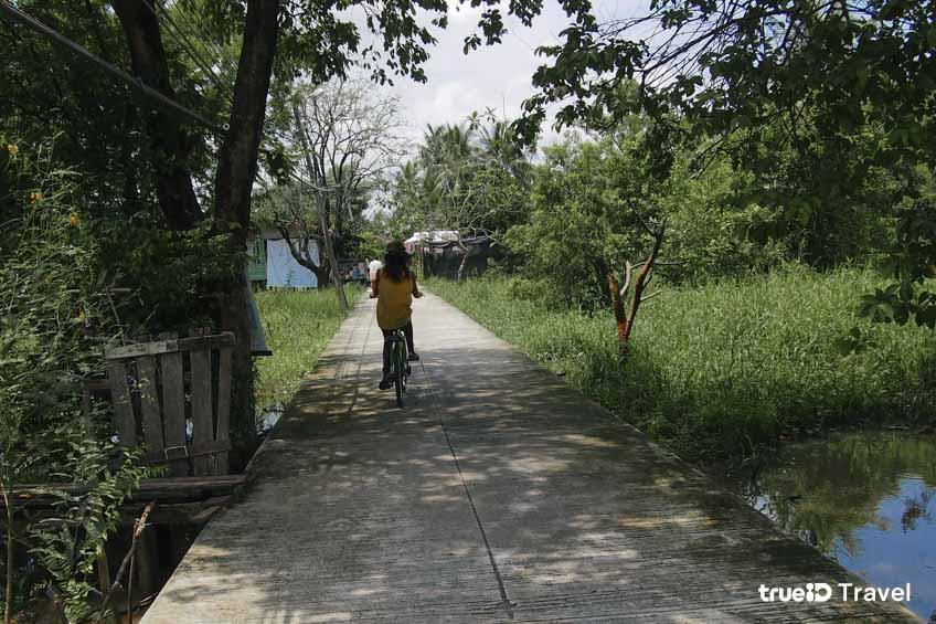 ปั่นจักรยานเที่ยว เกาะเกร็ด นนทบุรี