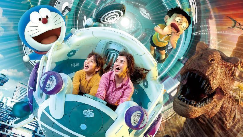 Universal Studios Japan เปิดตัวเครื่องเล่นโดราเอมอน Stand by Me Doraemon 2 ตั้งแต่สิงหาคมเป็นต้นไป