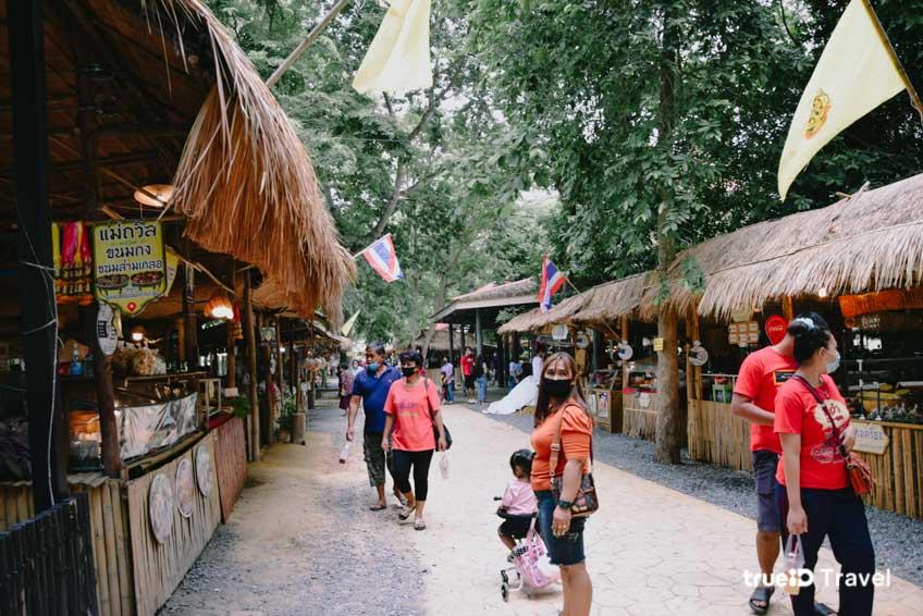 ตลาดไทยย้อนยุคบ้านระจัน