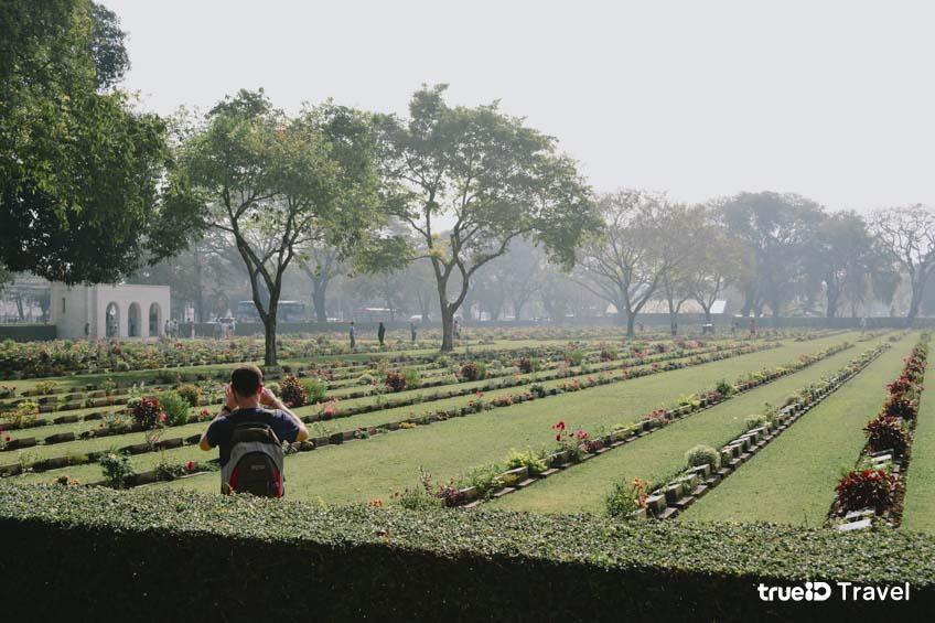 สงครามโลกครั้งที่ 2 กาญจนบุรี สุสาน ทหารสัมพันธมิตร