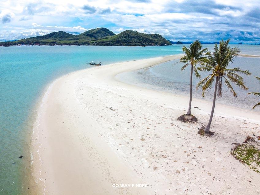 ที่เที่ยวพังงา แหลมหาดเกาะยาวใหญ่ ทะเลแหวก