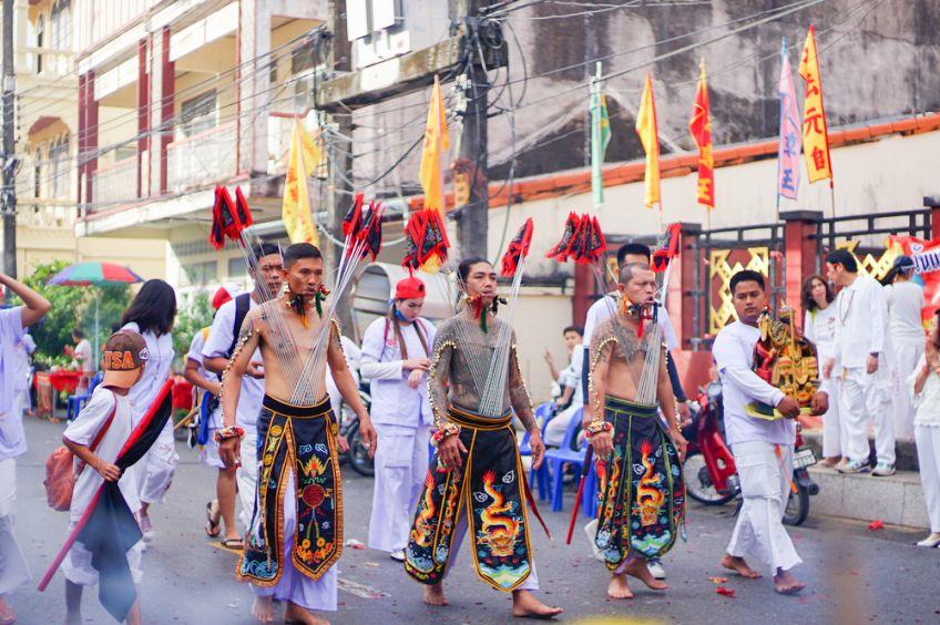 อิ้วเก้ง พิธีสำคัญในเทศกาลกินเจภูเก็ต