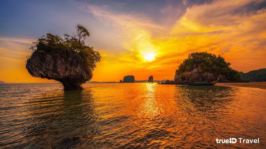 เกาะเหลาบิเละ เกาะห้อง อุทยานแห่งชาติธารโบกขรณี