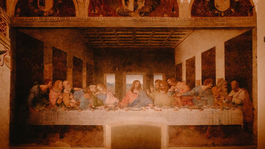 วันศุกร์ 13 The Last Supper พระเยซู