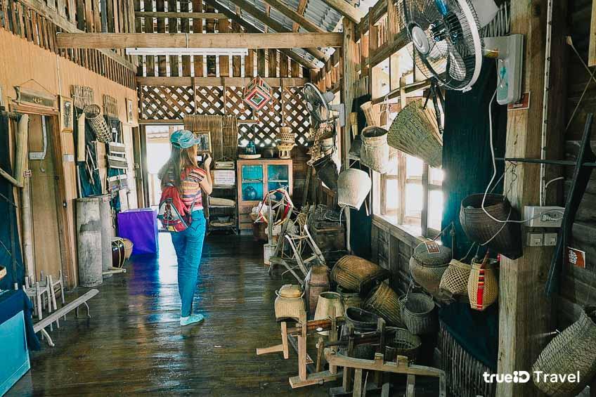 ที่เที่ยวเชียงคาน จังหวัดเลย หมู่บ้านวัฒนธรรมไทดำ ลาวโซ่ง