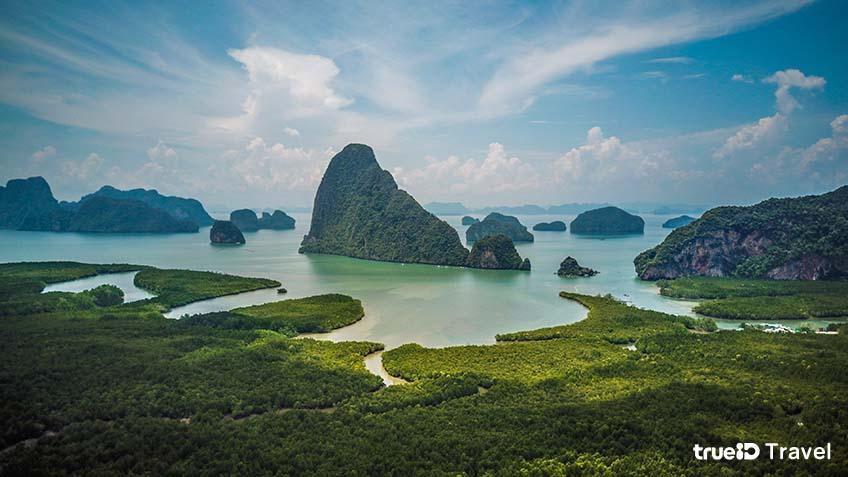 พังงา เสม็ดนางชี ที่เที่ยวสวยในไทย