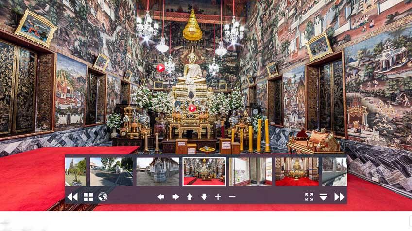 เที่ยวออนไลน์ ที่เที่ยวกรุงเทพ วัดอรุณ 3D Virtual โควิด-19