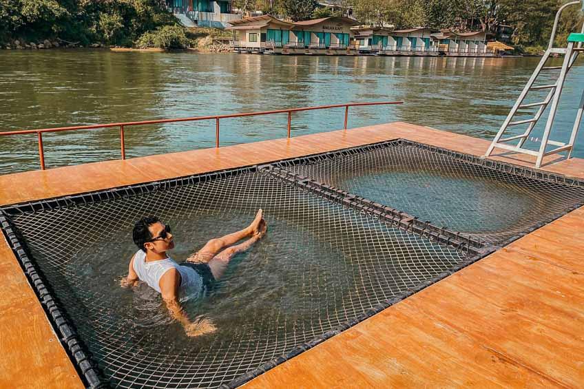 ที่พักสวย กาญจนบุรี ริมแม่น้ำ ที่พักบับเบิ้ล