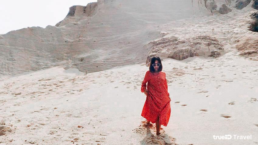 ที่เที่ยวถ่ายรูป สุราษฎร์ธานี เนินทรายเหมืองแกะ