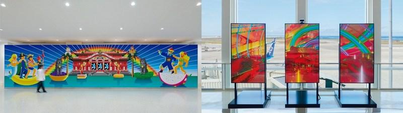 นิทรรศการศิลปะ CULTURE GATE to JAPAN สนามบินนาฮะ