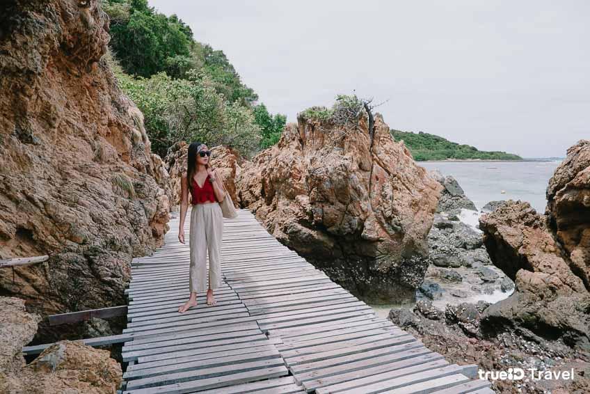 ที่เที่ยวสัตหีบ ชลบุรี เกาะขาม ดำน้ำ