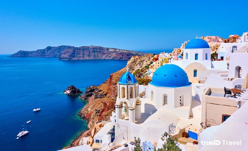 หมู่บ้านโบราณ เอีย Santorini