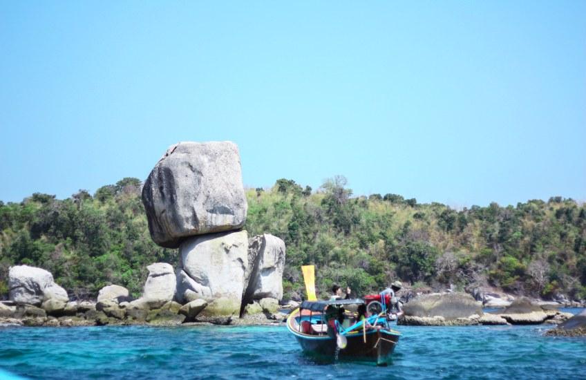 เกาะหินซ้อน ที่เที่ยวสตูล