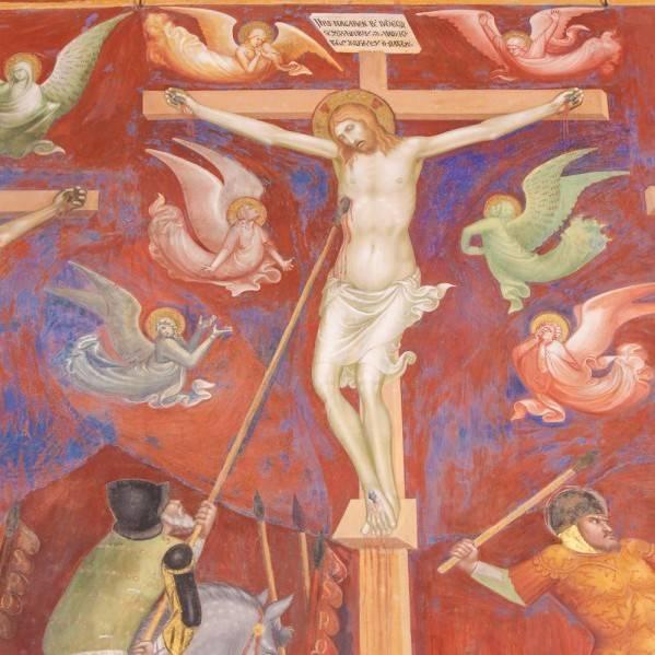 ภาพหอกลองกินุสแทงพระเยซู