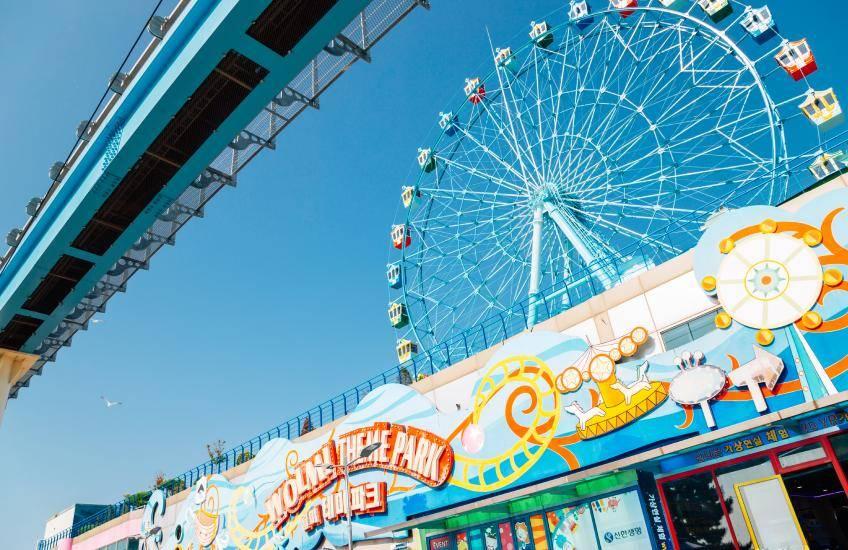 Wolmi Theme Park ที่เที่ยวเกาหลี ตามรอยซีรีส์ดัง