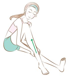 รวมวิธีนวดลดเซลลูไลท์หน้าท้อง-ต้นขา-น่อง แบบสาวญี่ปุ่น