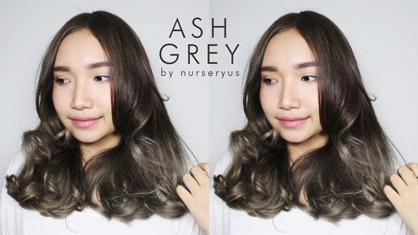 How to ทำผมสีเทาหม่น Ash Grey ด้วยตัวเอง สวยเหมือนทำร้าน