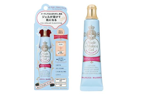 Shiseido Japan Majolica Majorca Nude Make Gel Foundation