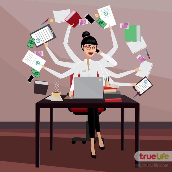 เวลาไม่ค่อยจะมี...5 วิธีจัดการเวลาสำหรับสาวที่งานยุ่งมาก