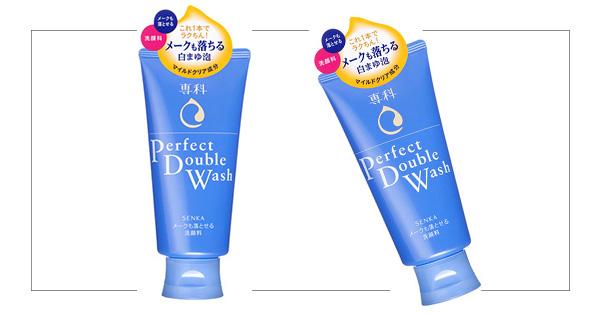 SENKA Perfect Double Wash ผสานการทำความสะอาดเมคอัพและล้างหน้าหมดจดในขั้นตอนเดียว