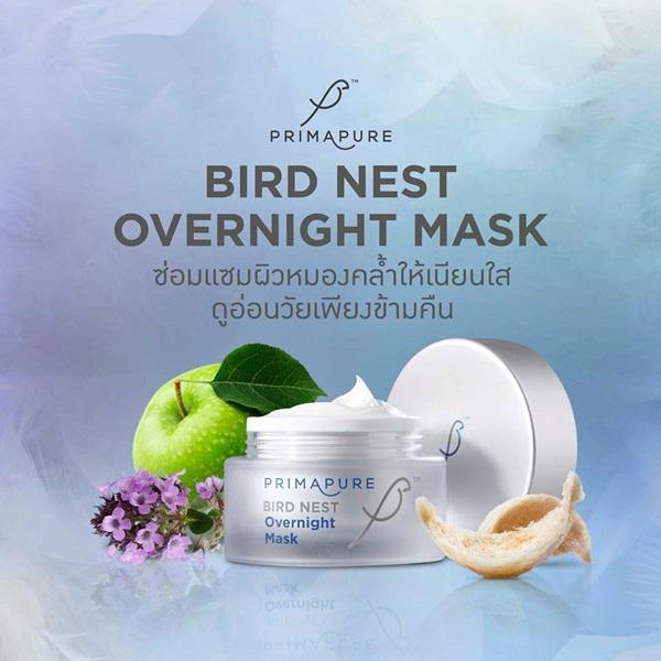 PrimaPure Birdnest Overnight Mask ครีมมาส์กหน้าสารสกัดรังนก ขจัดริ้วรอย เพียงชั่วข้ามคืน!!!