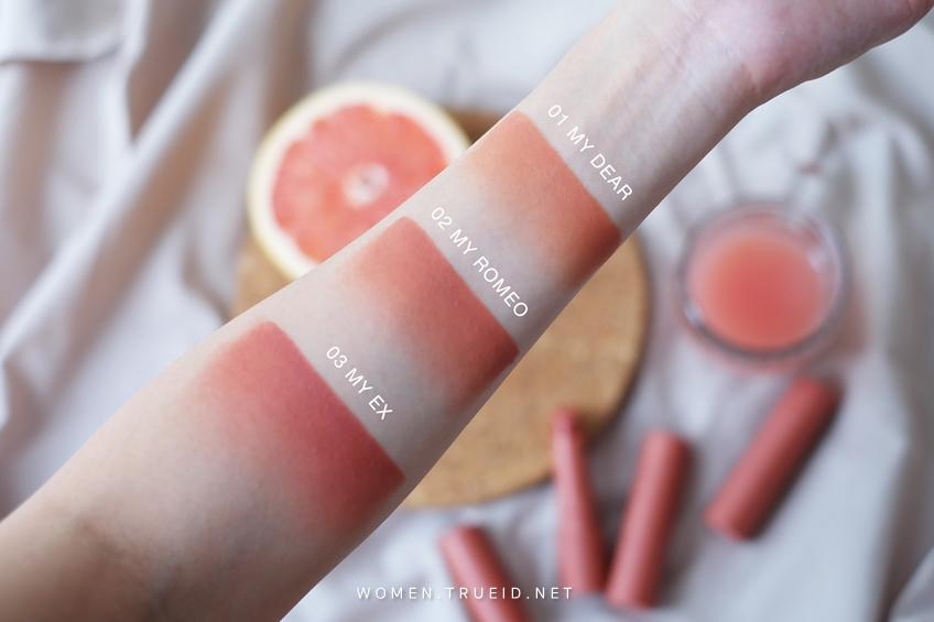 BEAUTY REVIEW | 4U2 YOU'RE MINE 18 สี ลิปสติกเนื้อครีม สีแน่นคมชัด แต่เนื้อบางเบาสุด!
