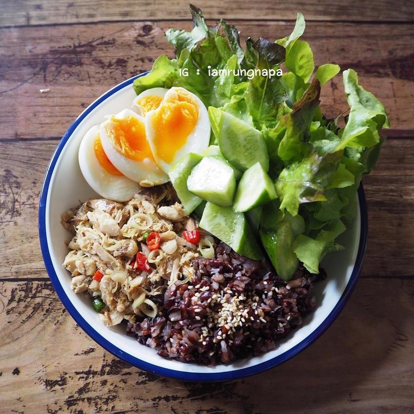 ไอเดียอาหารคลีน + ไข่ต้ม ทำง่าย กินสบาย อิ่มแน่น อิ่มนาน แต่ไม่อ้วน!