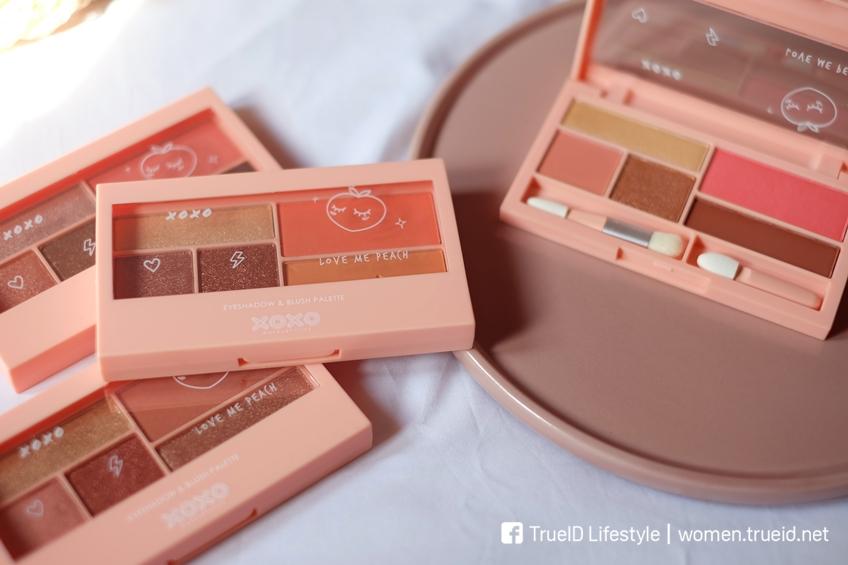 BEAUTY REVIEW | XOXO Eyeshadow & Blush Palette โทนพีช🍑 เนื้อดี สีก็น่ารัก!