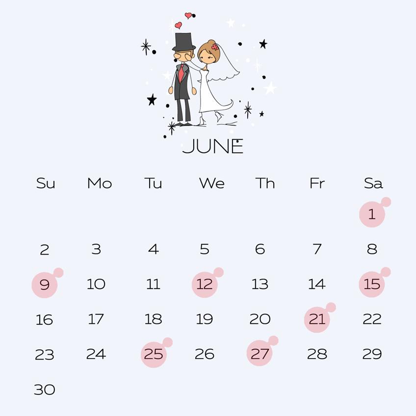 รวม! ฤกษ์แต่งงานปี 2562 วันมงคลของบ่าวสาว มีครบทั้งปี เช็คได้ทุกเดือน