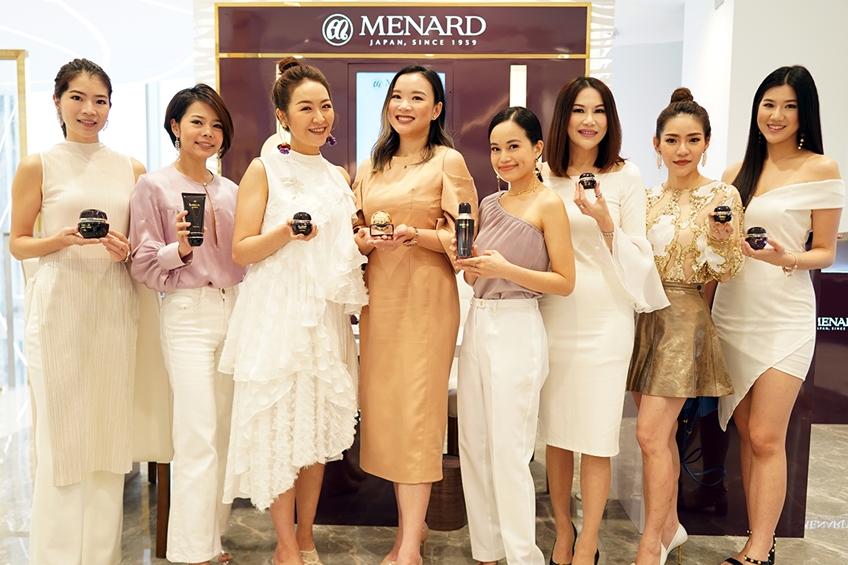 เมนนาร์ด ลักซ์ชัวรี่แบรนด์จากญี่ปุ่น เปิดตัวแฟล็กชิพเคาน์เตอร์แห่งแรกในเมืองไทย ที่สยามทาคาชิมายะ ไอคอนสยาม