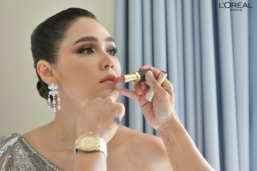 ชมพู่ อารยา กับลุคสวยแกรม ในเดรส Zuhair Murad Haute Coutre