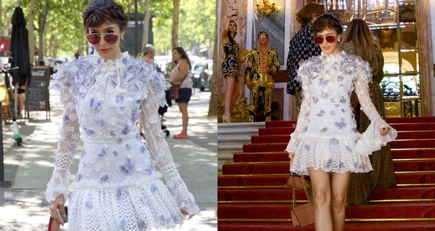 ริต้า - ศรีริต้า เจนเซ่น in Paris Fashion Week 2019 : Haute Couture