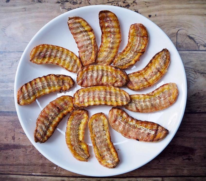 ไอเดียอาหารคลีน :กล้วยน้ำว้าอบ