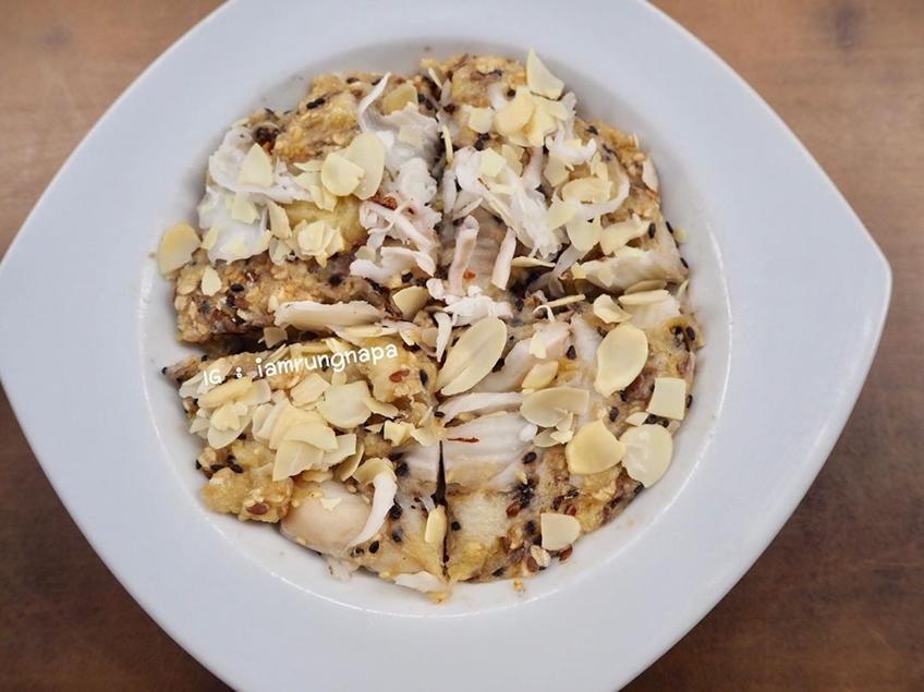 ไอเดียอาหารคลีน :ขนมกล้วยไมโครเวฟ
