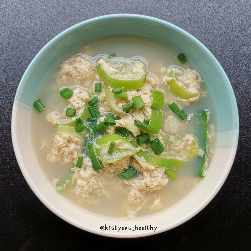 อาหารลดน้ำหนัก : ซุปไข่สไตล์ญี่ปุ่น แต่ปรุงแบบไทยค่า