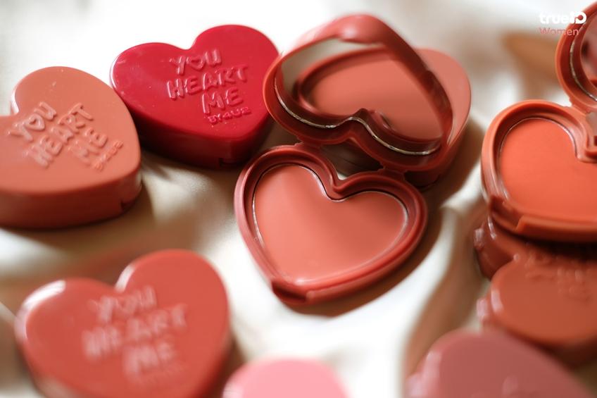 BEAUTY REVIEW | บลัชออนรูปหัวใจ 30 เฉดสี 4U2 YOU HEART ME พิกเมนท์แน่น เนื้อบลัชดีมาก!