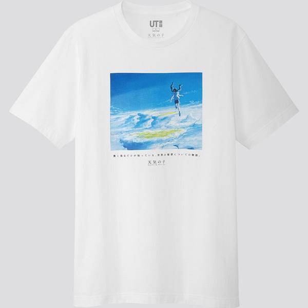 ยูนิโคล่ วางจำหน่ายเสื้อยืด UT ดีไซน์ใหม่ จากผลงานสร้างชื่อของ มาโคโตะ ชินไค
