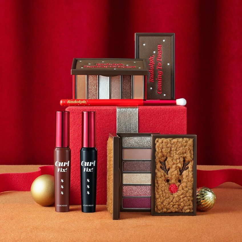 Etude House Rudolph Coming To Town Collection